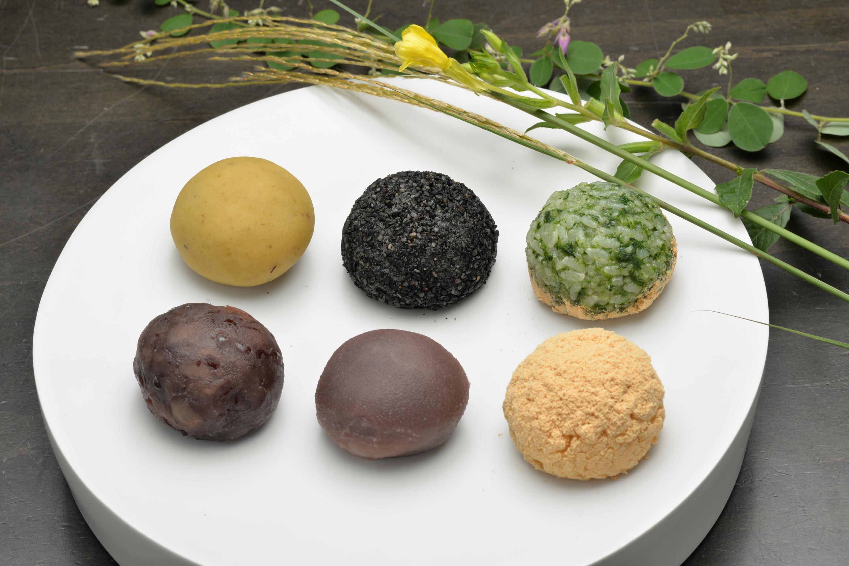 【菜の花ヴィレッジ】季節の和菓子 おはぎ。