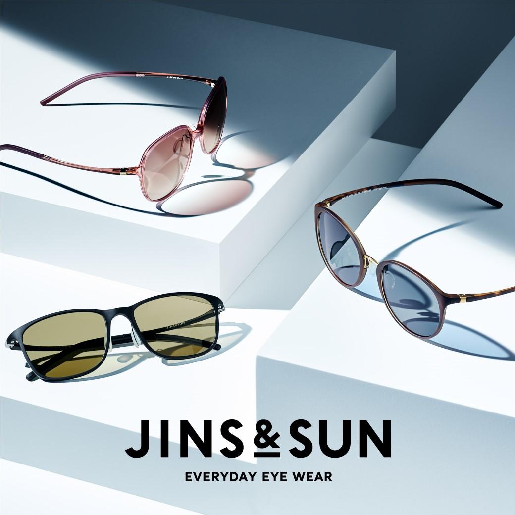 【JINS】新サングラスブランド「JINS&SUN」のシーズン到来!
