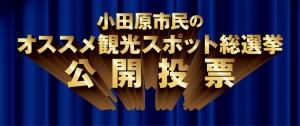 【小田原市民のオススメ観光スポット総選挙 公開投票】