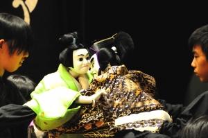 【相模人形芝居下中座公演「怪童丸物語 足柄山の段」】